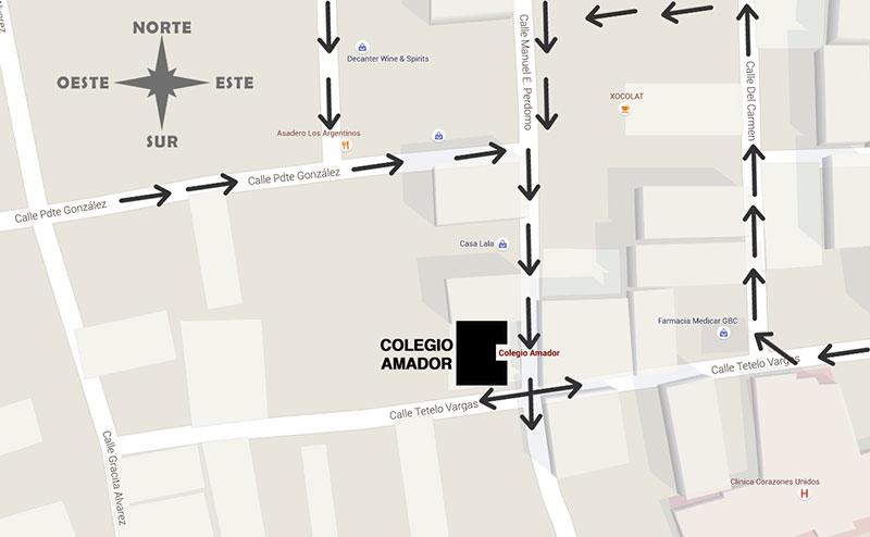 Mapa Ruta Recomendada